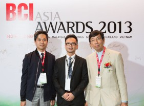 2013 Focus China Architect Award, BCI Asia Awards, Hong Kong
