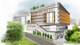 The University of Hong Kong Academic Building at No. 3 Sassoon Road