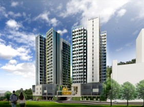 The University of Hong Kong Wong Chuk Hang Students Residence (Adopting Modular Integrated Construction (MiC))