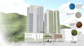 The University of Hong Kong Wong Chuk Hang Students Residence (Adopting Modular Integrated Construction (MiC))